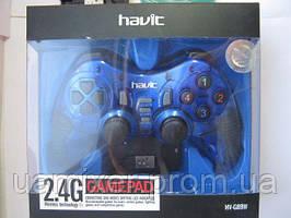 Джойстик GAMEPAD  HAVIT HV-G89W USB+PS2+PS3 wireless blue