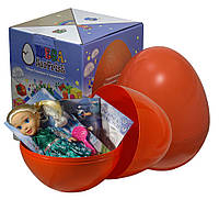 """Большое пластиковое яйцо мега-сюрприз с игрушками """"Frozen Холодное сердце"""""""