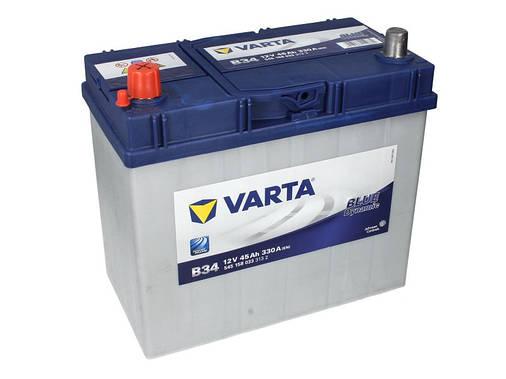 Аккумулятор VARTA BD 45Ah EN330 L+ Asia (B34), фото 2