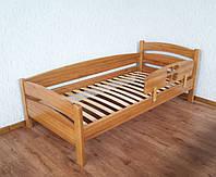 """Кровать с быстросъемным бортиком """"Марта"""" (190\200*90). Массив - береза. Палитра - 10 цветов на выбор."""