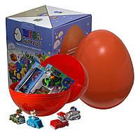 """Большое пластиковое яйцо-сюрприз с игрушками """"Щенячий патруль"""""""