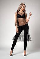 Фатиновое платье можно одевать сверху на любое платье или брюки