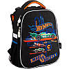 Рюкзак шкільний каркасний 531 Hot Wheels HW18-531M, фото 2