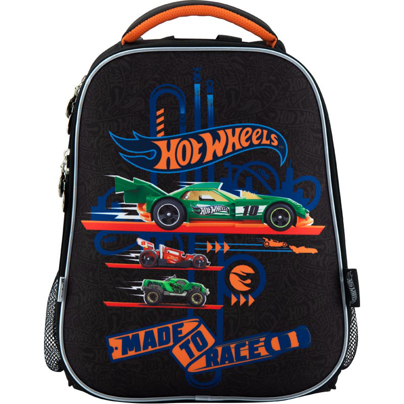 Рюкзак шкільний каркасний 531 Hot Wheels HW18-531M