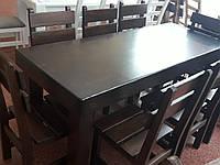 Копия Набор ГЕНУЯ 2,0 м. + 8 стульев, фото 1