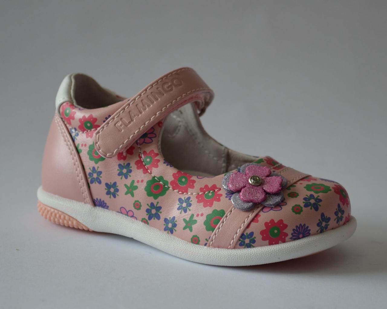 11e75516d Кожаные туфли на девочку Flamingo 21-23 р, цена 575 грн., купить в ...