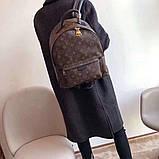 Рюкзак Луї Вітон канва Monogram, великий, шкіряна репліка, фото 2
