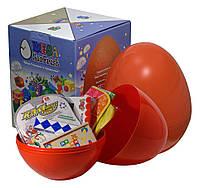 """Большое пластиковое яйцо мега-сюрприз с развивающими игрушками """"Развитие"""""""