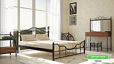 ✅Металева ліжко Кармен 140х190 см ТМ Метал-Дизайн, фото 3