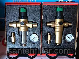Фильтры с редуктором 1/2 для горячей и холодной воды (аналог Honeywell FK06-1/2AA-М)