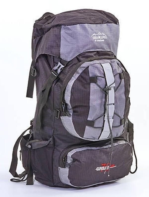 Туристический рюкзак Gorangd 106  cерый  V-75 литров