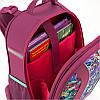 Рюкзак шкільний каркасний 703 Flowery K18-703M-2, фото 9