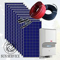 """Сонячна електростанція 3 кВт під """"Зелений тариф"""", комплект оптимальний"""