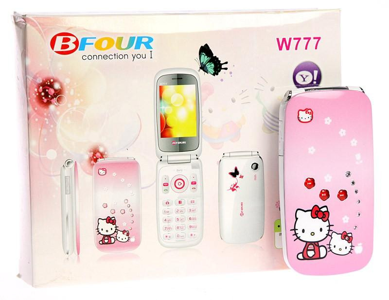 Мобильный телефон Samsung W777 Hello Kitty