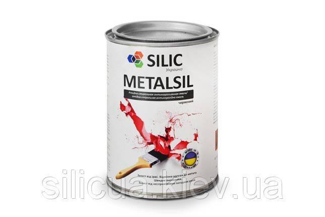 Антикоррозийная быстросохнущая грунт-эмаль Metalsil, фото 2