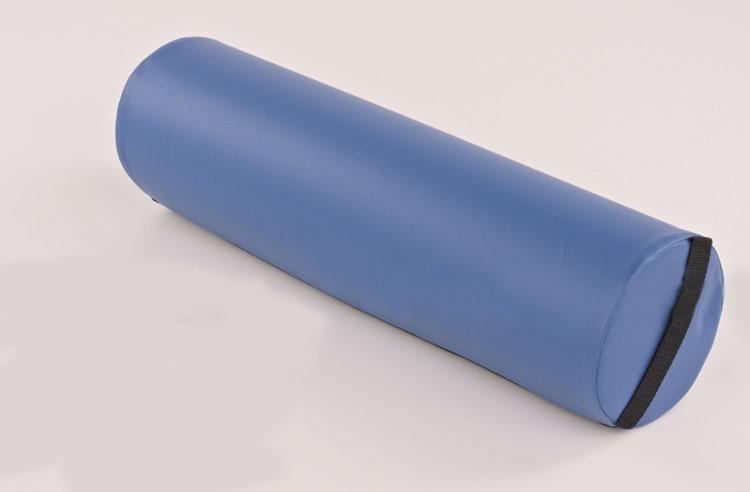 Валик массажный голубой/бежевый