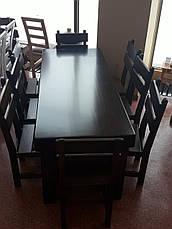 Стол к набор ГЕНУЯ 2,0 м. х 0,8м, фото 2