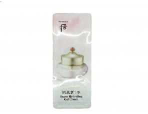 The history of Whoo Суперувлажняющий Гель - крем для лица Пробник Super Hydrating Gel Cream 1ml