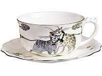"""Чайный набор """"Коты"""" 2 предмета 400 мл, Lefard, 264-645"""