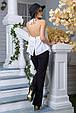 Блуза Флейта белый (S-M,L-XL), фото 5