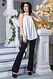 Блуза Флейта белый (S-M,L-XL), фото 4