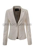 Классический женский белый пиджак Glo-Story