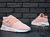 Жіночі кросівки Adidas EQT Cushion ADV Pink/White, фото 4