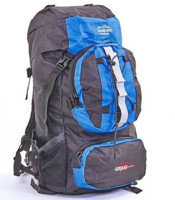 Рюкзак туристичний Gorangd 106  синій  V-75 літрів