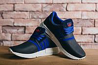 Мужские кроссовки Adidas Синие 10232 Реплика