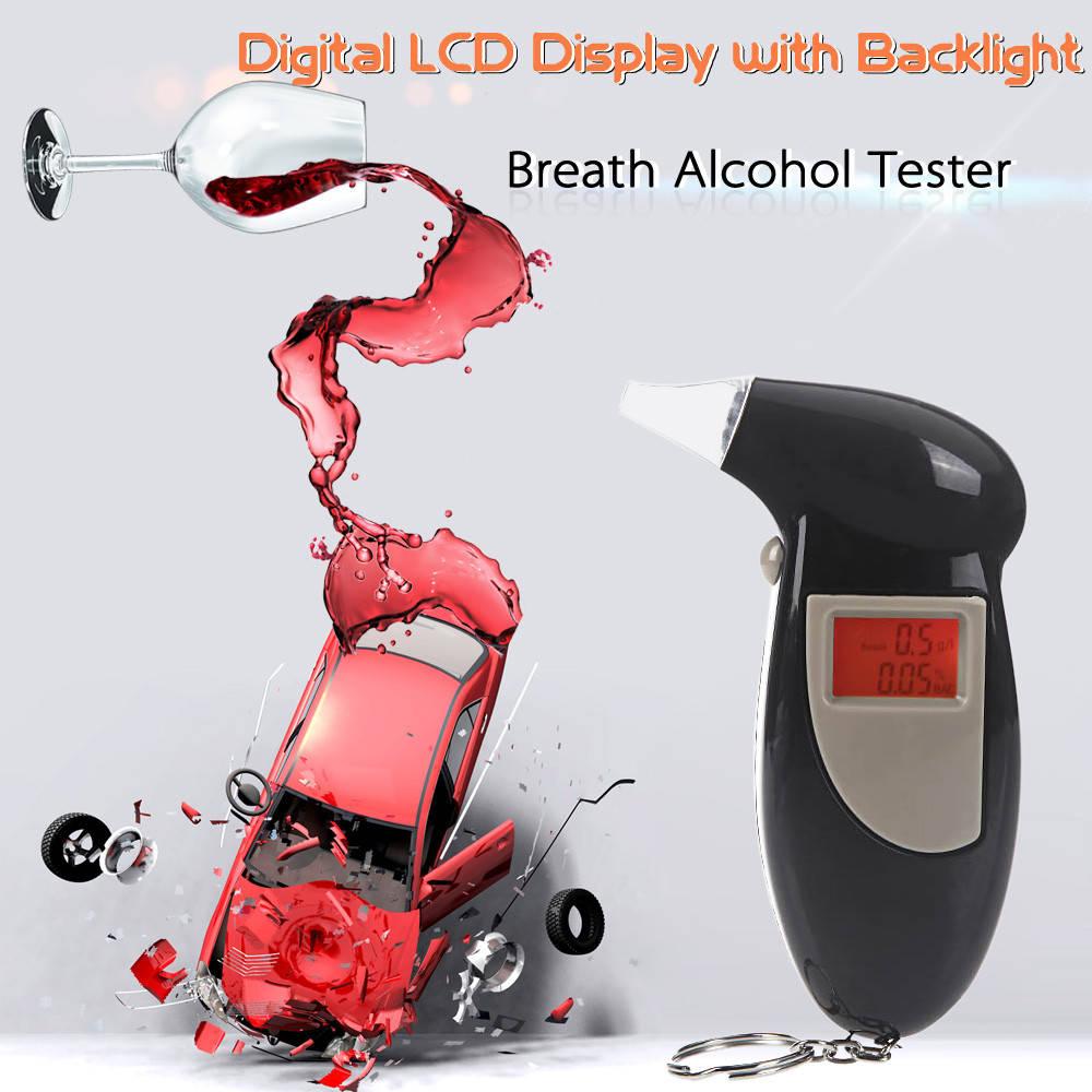 """Персональный портативный цифровой алкотестер """"Digital Breath Alcohol Tester"""""""