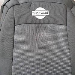 Чехлы на Nissan Qashqai с 2006 года. (Кашкай) эконом