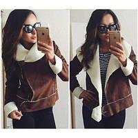 Куртка-дубленка весна осень