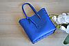 Синяя сумка-шоппер VirginiaConti, фото 4