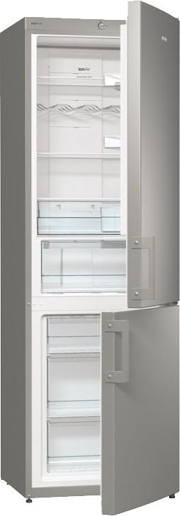 Двухкамерный холодильник Gorenje NRK6191GX