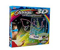Доска для рисования с 3D-эффектом игровой набор Toy Magic 3D морской мир