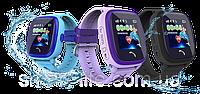 Водонепроникні Розумні Дитячі Годинник з GPS трекером Smart Baby Watch DF25 (Q100 Aqua/Q300), фото 1