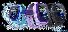Водонепроницаемые Умные Детские Часы с GPS трекером Smart Baby Watch DF25 (Q100 Aqua/Q300)