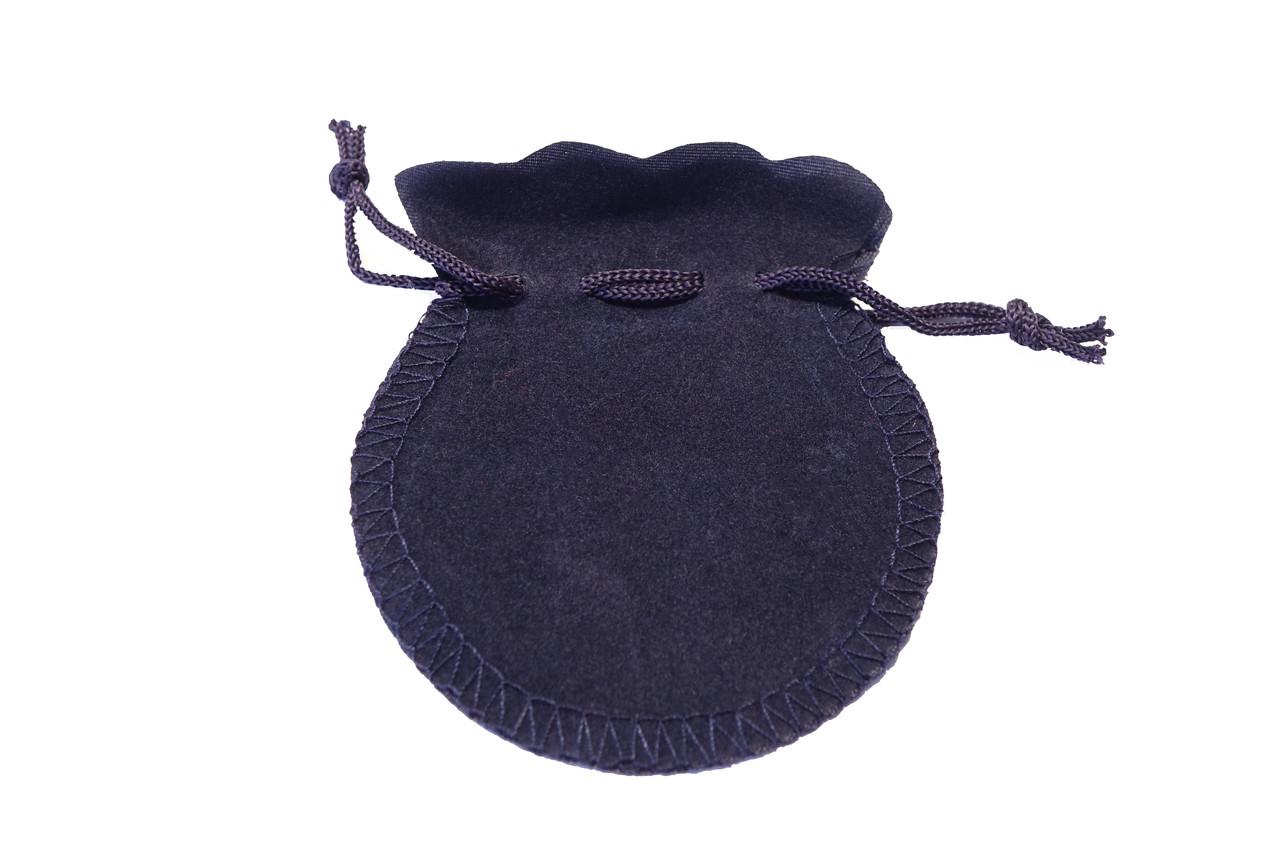 Мешочек подарочный Бархат синий 9*7 см