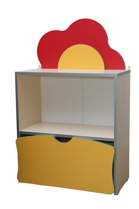 Детская стенка Цветочная Поляна №1 (600*300*957h)