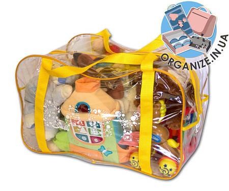 Сумка в роддом/для игрушек ORGANIZE (желтый)