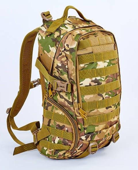 Рюкзак тактический Tactic V-30л TY-9332-M камуфляжный 40х26х15 см
