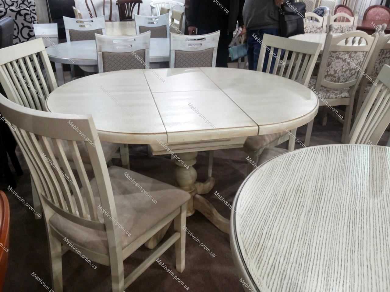 Стол обеденный круглый К-3 GOOD WOOD Рускополянский Мебельный Комбинат Явир