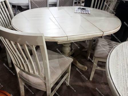 Стол обеденный круглый К-3 GOOD WOOD Рускополянский Мебельный Комбинат Явир, фото 2
