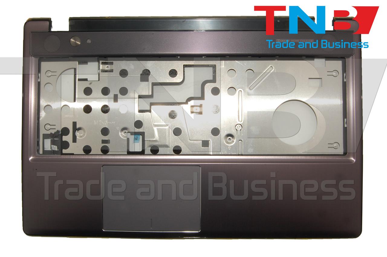 Крышка клавиатуры (топкейс) Lenovo Z580 с тачпадом