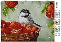 Схема для вышивания бисером  - На яблоках