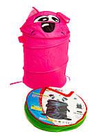 Мягкая корзина для детских игрушек a999-85 36см