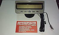 Часы автомобильные 12V (Часы,Вольтметр, 2 Термометра, Подсветка)