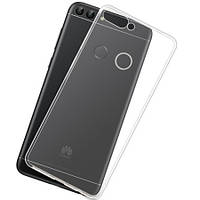 Прозрачный силиконовый чехол Huawei P Smart
