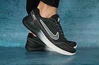 Мужские кроссовки Nike Черный/Серый 10645 Реплика