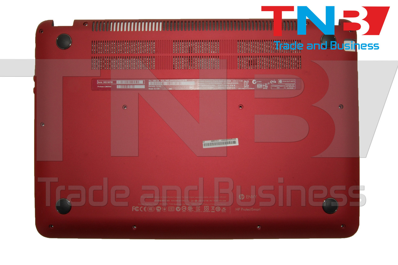 Нижня частина (корито) HP ENVY6-1000 Красный